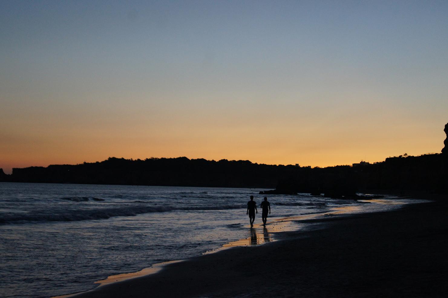 Abendstimmung in Portimão