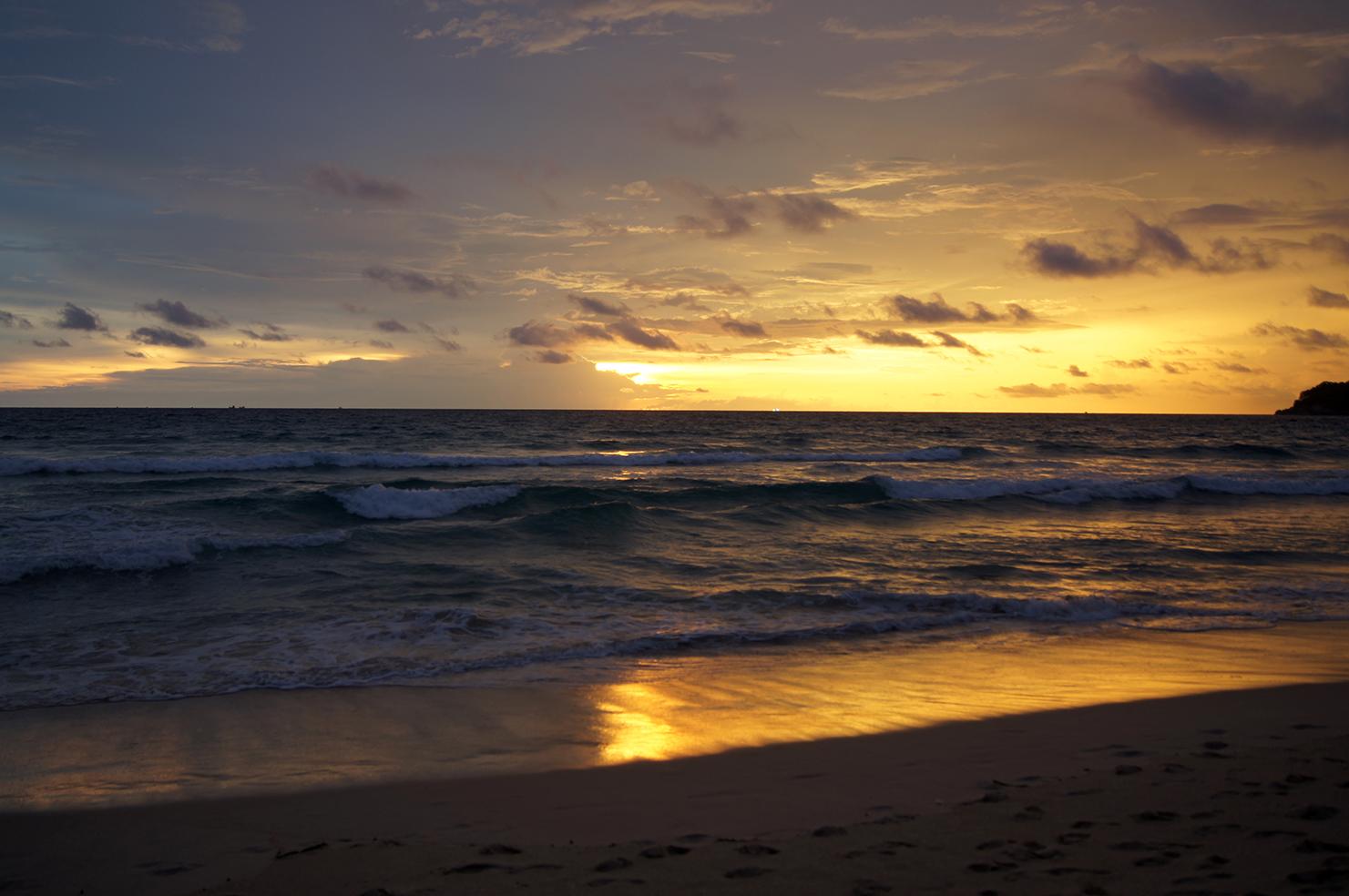 Himmelsspiegel Sand