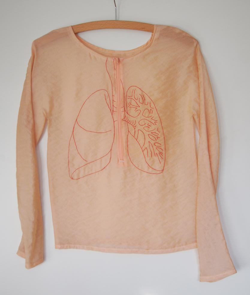 Nadelstiche in der Lunge